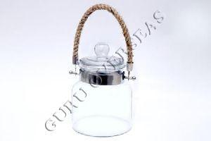 Hanging Glass Jar