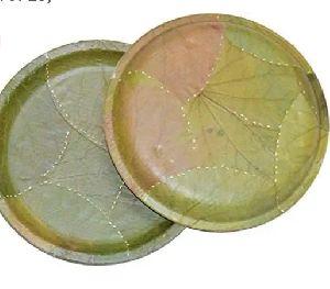 Round Sal Leaf Plates