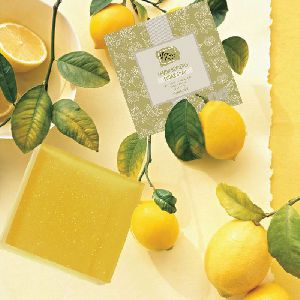 Lemon Glycerin Sugar Soap