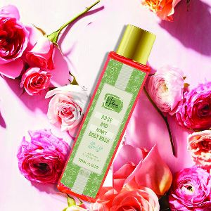 ROSE & HONEY BODY WASH