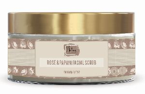Rose & Papaya Facial Scrub
