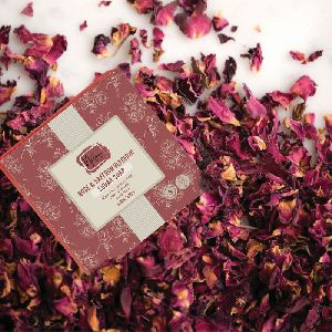 Rose & Saffron Glycerin Sugar Soap