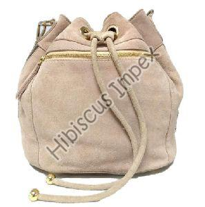 Ladies Cow Suede Backpack Bags