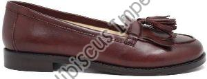 Ladies Leather Slip On Shoes
