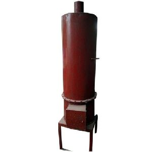 100L Red Wood Fired Water Heater