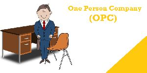 One Person company (OPC) Registration Services