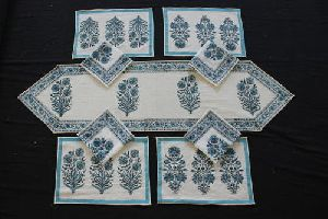 Cotton Table Cover Set