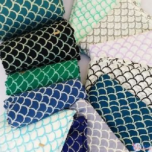 Hand Block Print Cotton Mehrab Fabric