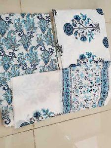 Hand Block Printed Cotton Dress Material
