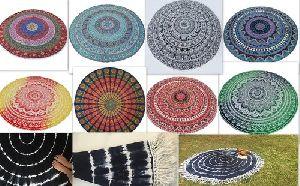 Indian Tapestry Round Mandala