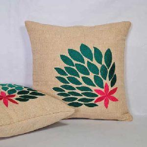 Linen Jute Cushion Cover