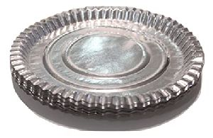 Eco Friendly Silver Paper Plates