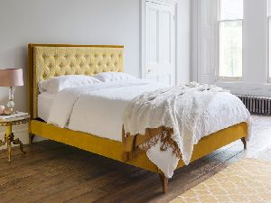 Contemporary Upholstered Bed