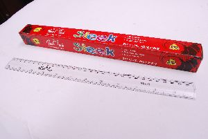12 Sleek Plastic Ruler