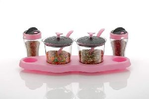 Plastic Jar Pickle Set