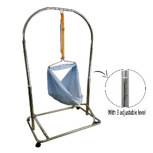 Portable Cradle Stand Chrome (B6085)