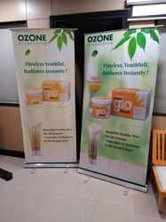 Advertising Roll Up Stand