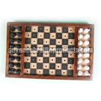 Non Folding Chess Board for Blind