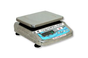 Stainless Steel Counter Weighing Scale
