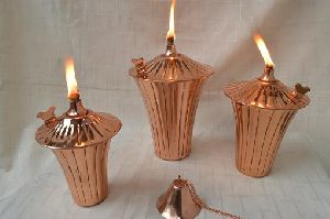 Copper Oil Lamp