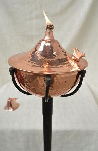 Copper Oil Torch