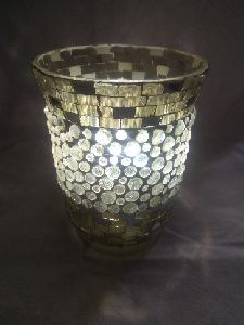 Mosaic Glass Hurricane
