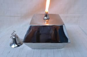 Stainless Steel Oil Lamp