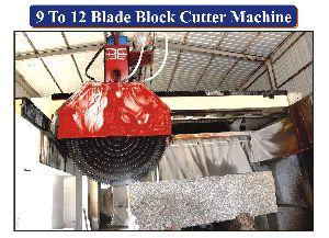 Multi Blade Granite Block Cutter Machine