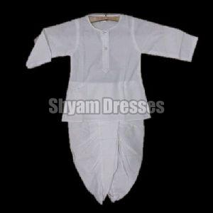 Boys Plain Dhoti Kurta
