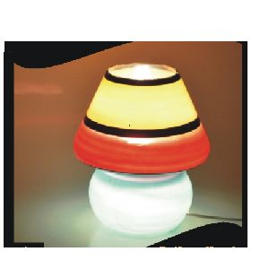 Glass Electric Table Lamp