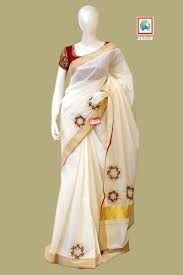 Silk Embroidered Casual Mural Sarees