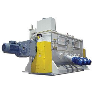 Single Shaft Paddle Mixer