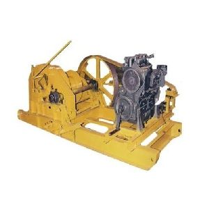 Motorized Piling winch Machine