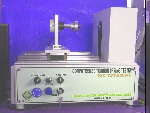 KIC- TST-10-C Computerized Torsion Spring Testing Machine