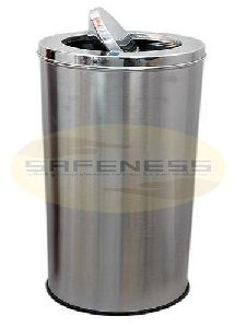 Silver Swing Steel Dustbin