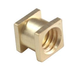 Brass Square Threaded Insert