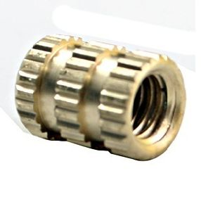 Brass Three Knurling Insert