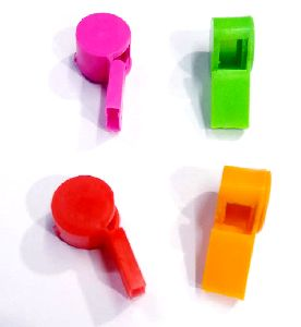 Plastic Toy Whistle