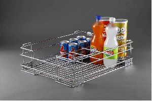 SS Bottle Basket