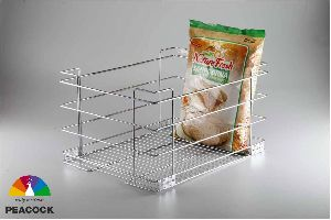 SS Grain Trolley Basket