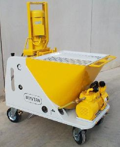 Stainless Steel Plastering Machine