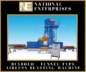 Diabolo Type Shot Blasting Machine