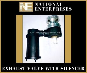 Exhaust Valve With Silencer