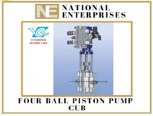 Four Ball Piston Pump Cub
