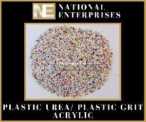 Plastic Grit Acrylic