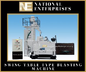 Swing Type Shot Blasting Machine
