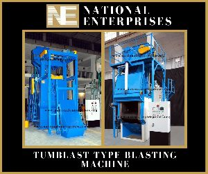 Tumbler Type Shot Blasting Machine