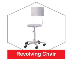 Stainless Steel Revolving Chair