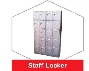 Stainless Steel Staff Locker