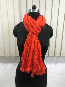 Ladies Wrinkle Scarves